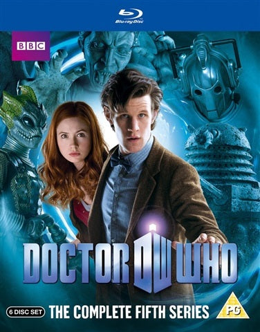 Blu-Ray Boxset - Doctor Who The Complete Fifth Series (PG) Preowned