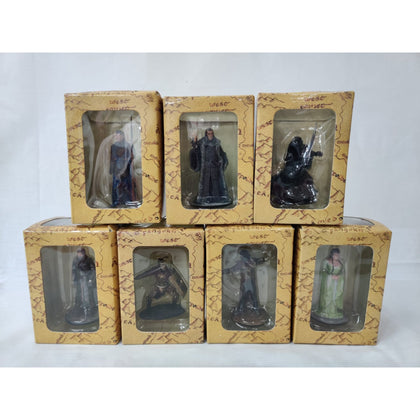 Lord of the Ring Figures Collection Only Preowned