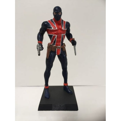 Eaglemoss Marvel Union Jack Figurine Preowned
