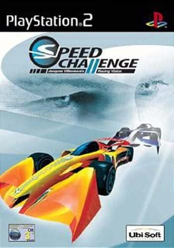 PS2 Speed Challange Jacques Villeneuve Racing Vision (3+) Preowned