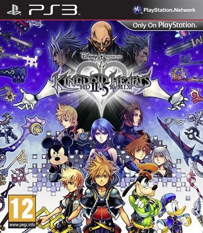 PS3 - Kingdom Hearts HD 2.5 Remix (12) Preowned