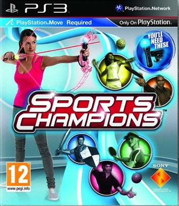 PS3 - Sports Champions (12) Preowned