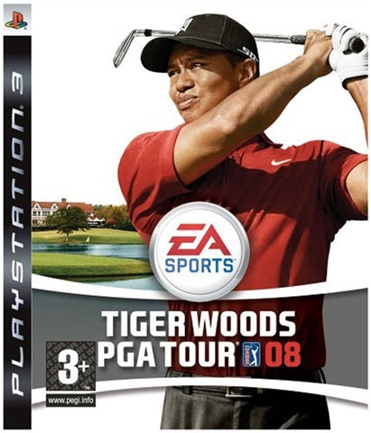 PS3 - Tiger Woods PGA Tour 08 (3+) Preowned