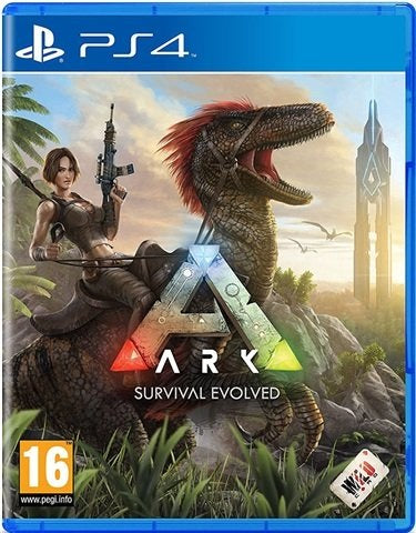 PS4 - Ark Survival Evolved (16) Preowned