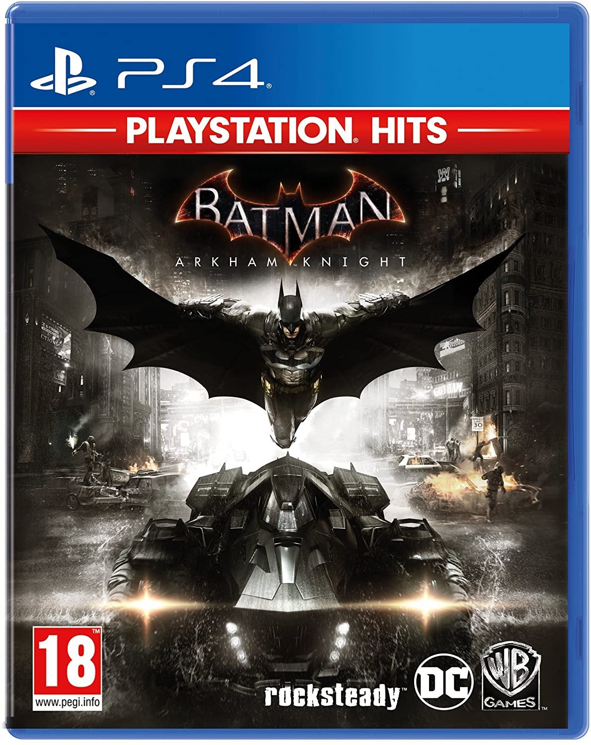 PS4 Batman Arkham Knight (18) Preowned