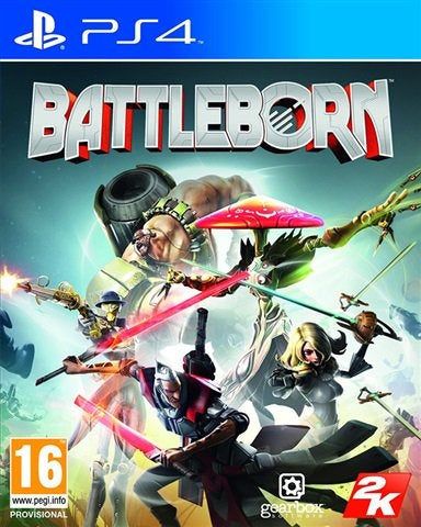 PS4 - Battleborn (16) Preowned