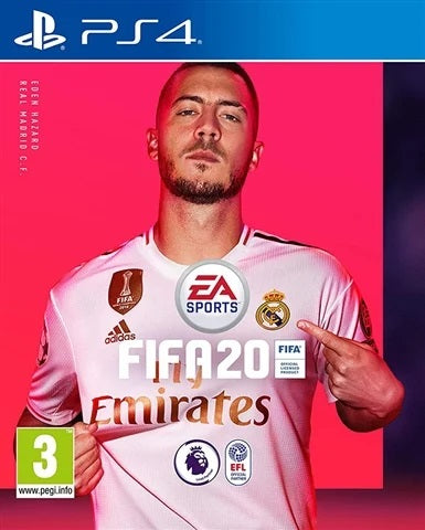 PS4 - Fifa 20 (3) Preowned
