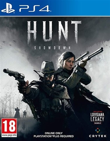 PS4 - Hunt Showdown (18) Preowned