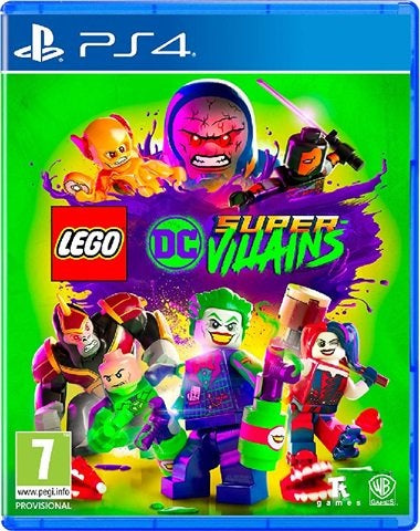 PS4 - Lego DC Super Villains (7) Preowned