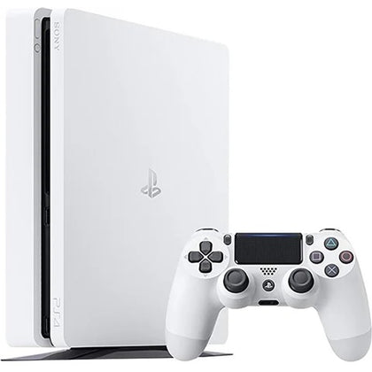 Playstation 4 Slim 500GB White Console Used