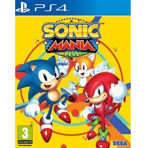 PS4 - Sonic Mania Plus (3) Preowned