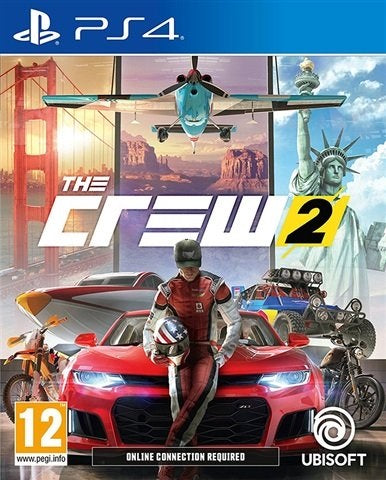 PS4 - The Crew 2 (12) Preowned