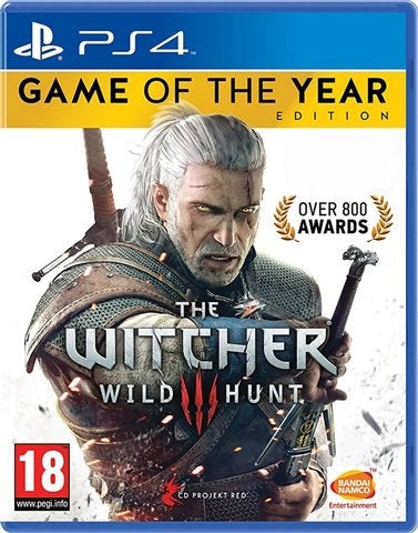PS4 - The Witcher 3 Wild Hunt Game of The Year Edition (18) Preowned