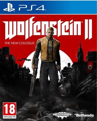 PS4 - Wolfenstein 2 The New Colossus (18) Preowned