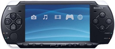 PSP Slim Console Black Preowned