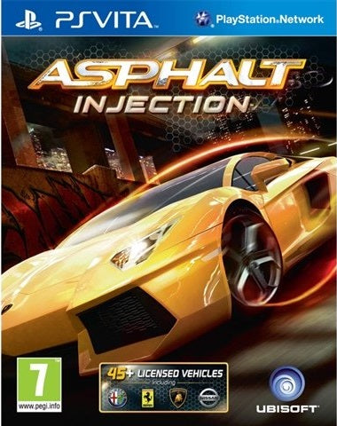PS Vita - Asphalt Injection (7) Preowned