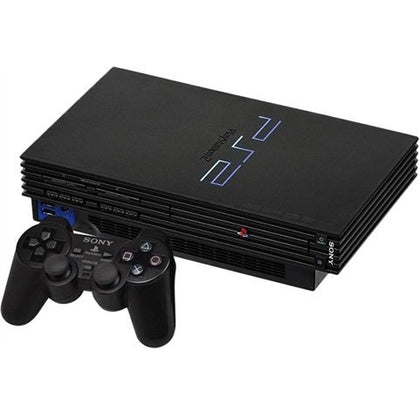 Playstation 2 Console Black Preowned