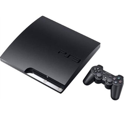 Playstation 3 Slim 500GB Console Black Preowned