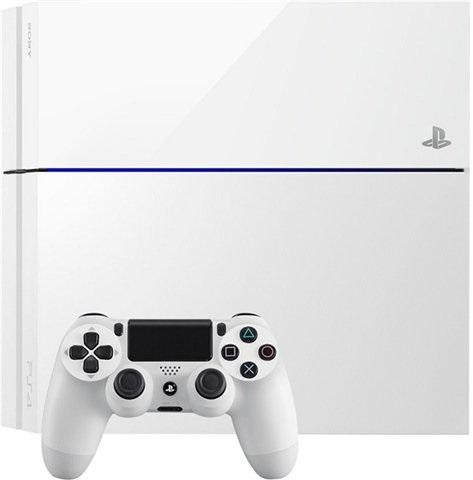 Playstation 4 500GB Console White Preowned