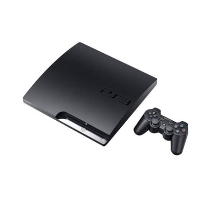 Playstation 3 Slim 320gb Black Preowned No Controller