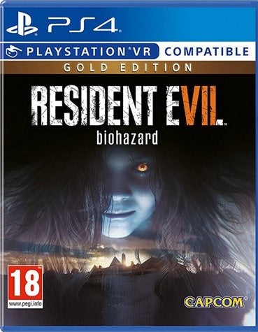 PS4 - Resident Evil 7 Biohazard Gold Edition (18) Preowned
