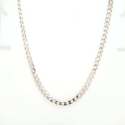 925 Silver Curb Chain Approx 17.6g Preowned