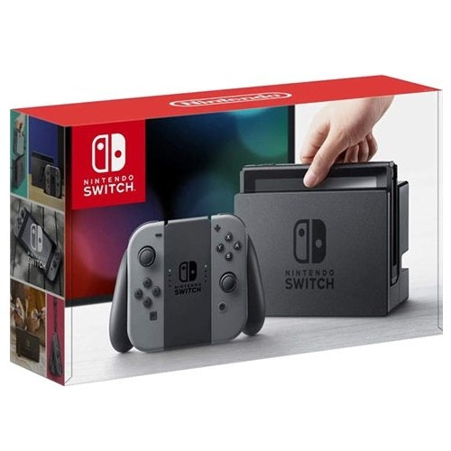 Switch Console HAC-001-01 with Grey Joy-Cons Grade B Preowned