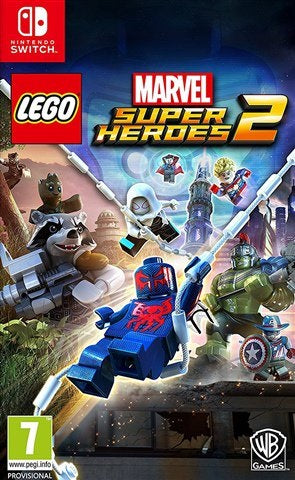 Switch - Lego Marvel Super Heroes 2 Preowned