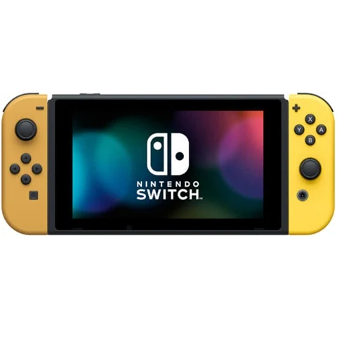 Switch Console 32GB Lets Go+Yellow/Brown Joy-Con No Game/Ball  Discounted Preowned