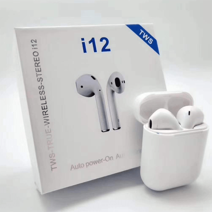 i12 5.0 True wireless Blutooth headset (Various Colours)