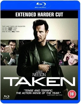 Blu-Ray - Taken (18) Preowned
