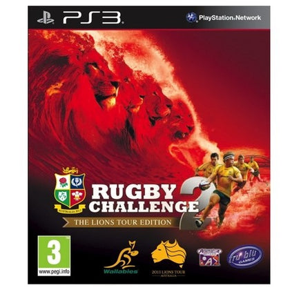 PS3 - Rugby Challenge 2 - Lions Tour (3) Preowned