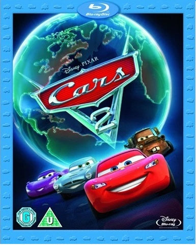 Blu-Ray - Cars 2 (U) Preowned