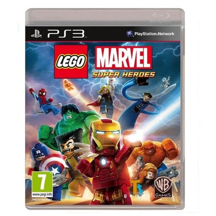 PS3 - LEGO Marvel Super Heroes (No Toy) (7) Preowned