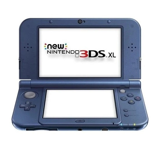 New 3DS XL Console Blue Preowned
