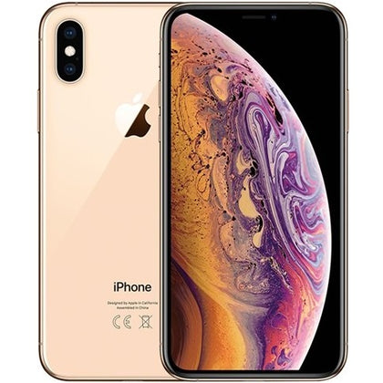 Apple iPhone XS Gold 256gb Unlocked Grade C Preowned
