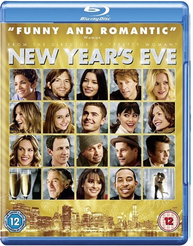 Blu-Ray - New Year's Eve (12) Preowned