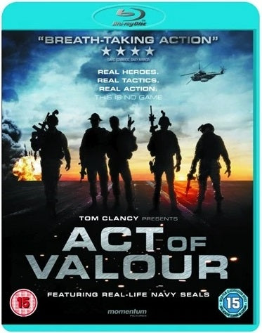 Blu-Ray - Act Of Valour (15) Preowned