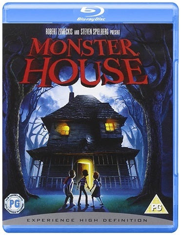Blu-Ray - Monster House (PG) Preowned