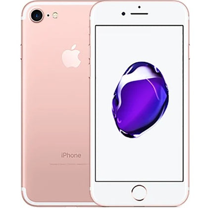 Apple iPhone 7 Rose Gold 32gb Unlocked Grade C Used (Crack See Description)