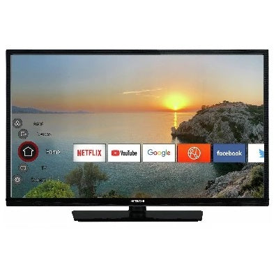"Hitachi 43HB26T72U 43"" Full HD Smart LED TV Grade B Collection Only Preowned"