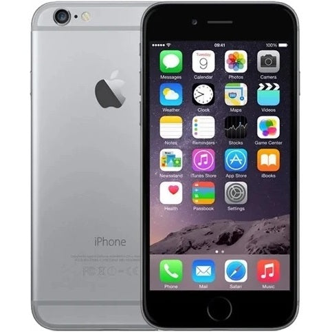 Apple iPhone 6 Space Grey 32gb Unlocked Grade C Preowned