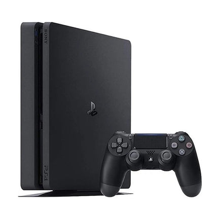 Playstation 4 Slim 500GB Console Black Preowened