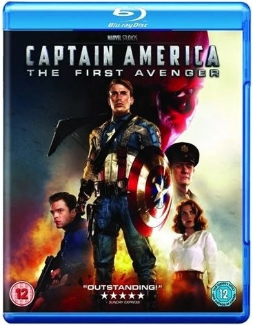 Blu-Ray - Captain America (12) Preowned