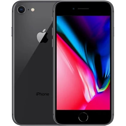 Apple iPhone 8 Space Grey 256gb O2 Grade C Preowned