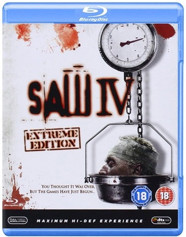 Blu-Ray - Saw IV (18) Preowned