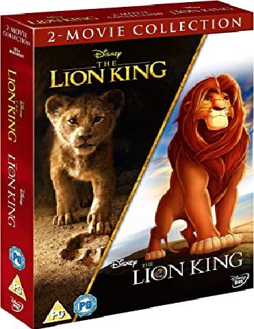 DVD Boxset - The Lion King 2-Movie Collection (PG) Preowned
