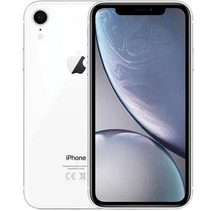 iPhone XR White 128gb Unlocked Grade B Preowned