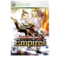 Xbox 360 - Dynasty Warriors 5 Empires (12) Preowned