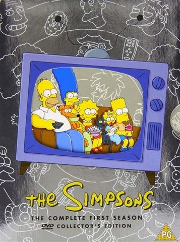 DVD Boxset - The Simpsons The Complete First Season (PG) Preowned